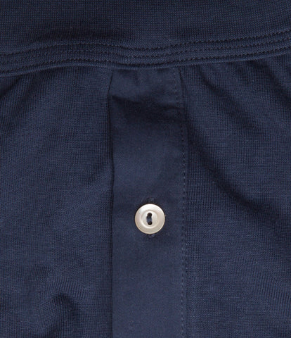 255 button facing underpants<br/>ink blue