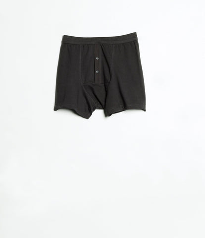 Men's <br/>255 button facing underpants <br/>charcoal
