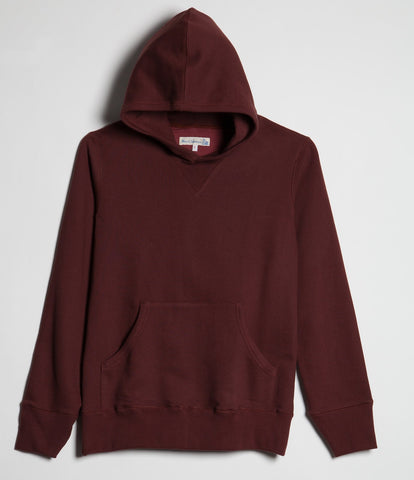3S82 hooded sweater<br/>carmine red