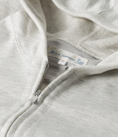 3S80 hooded zip jacket<br/>nature mel.