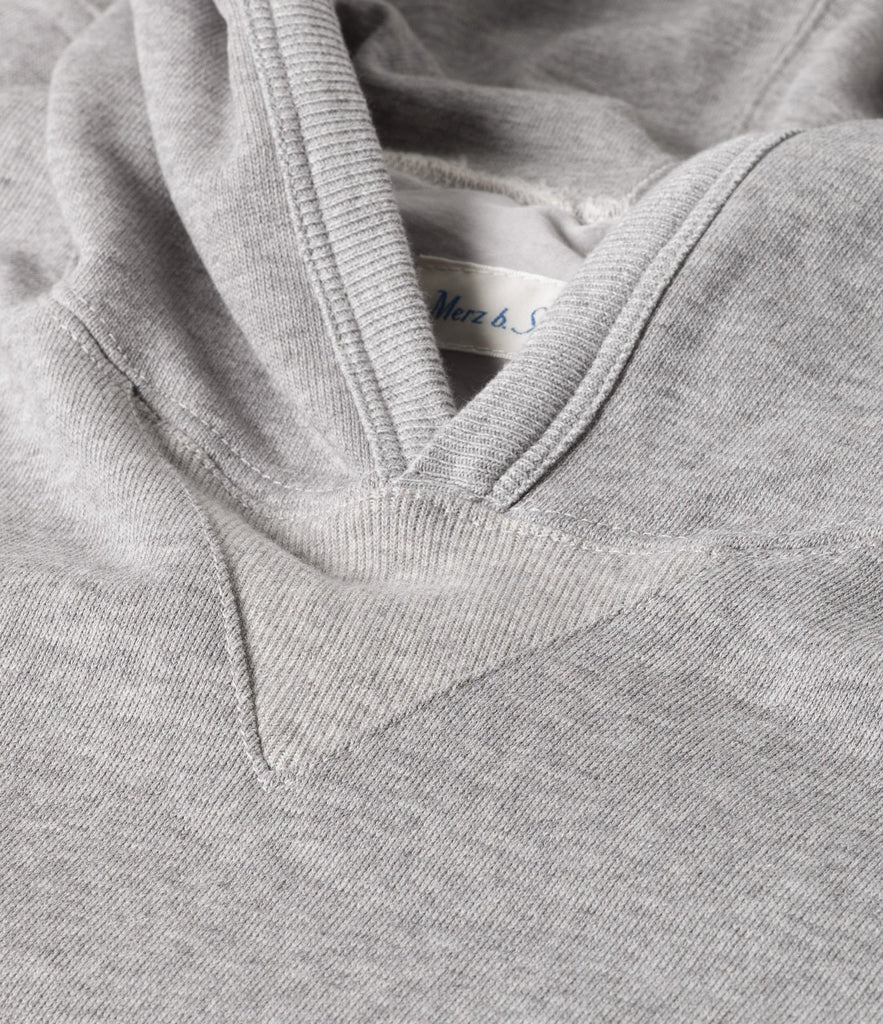 Men's <br/>3S82 hooded sweater <br/>grey mel.