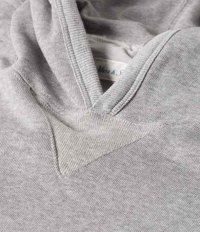 Men's<br/>3S82 hooded sweater<br/>grey mel.