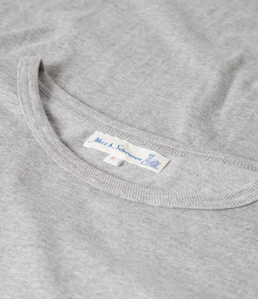 Men's <br/>1950'sEK crew neck T-Shirt eskimo <br/>grey mel.