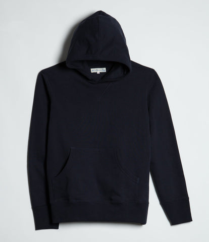 3S82 hooded sweater<br/>dark navy