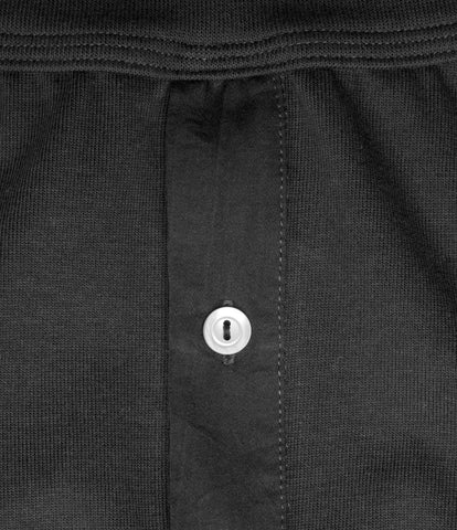 552 Strickflausch Long Johns<br/>charcoal
