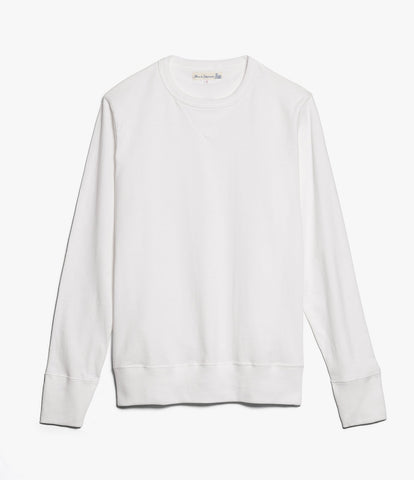2M78 crew neck sweatshirt light<br/>white