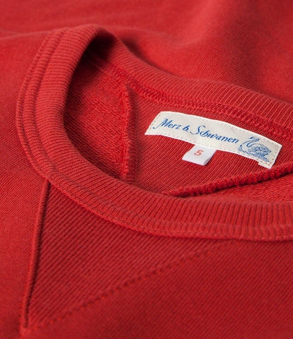 346 crew-neck sweatshirt<br/>red