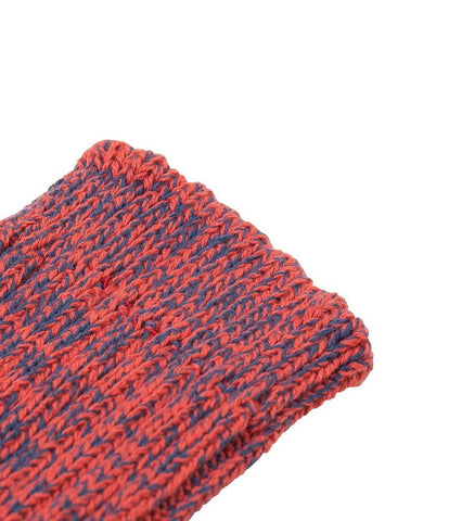 274 cotton sneaker socks<br/>navy-red