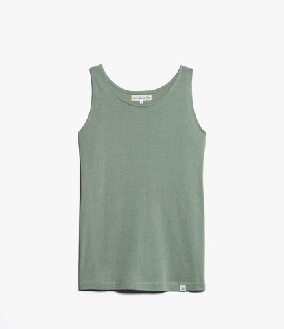 Women's <br>1.20sBFT boyfriend tank <br/>light army