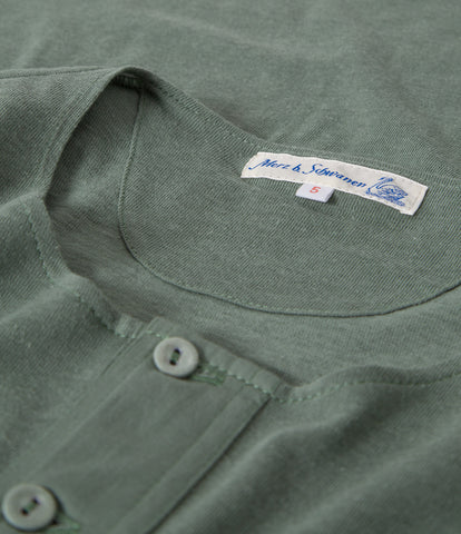 Men's <br/>103 henley short sleeve <br/>light army