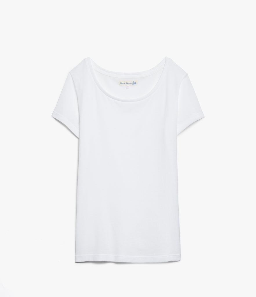 Women's <br/>18.EFC easy fit crew T-Shirt <br/>white