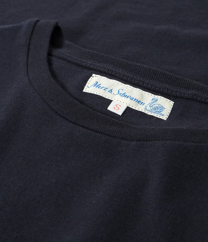 Women's<br/>18.EFC easy fit crew t-shirt<br/>dark navy