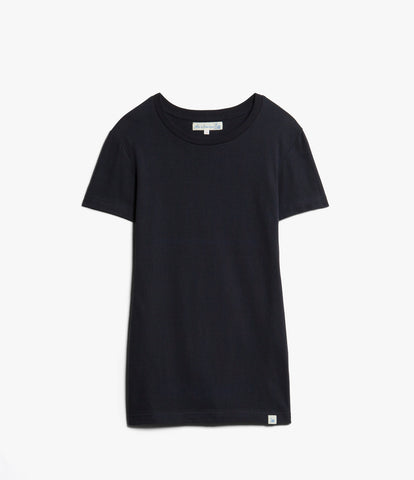 Women's <br/>19.50sw fitted crew <br/>dark navy