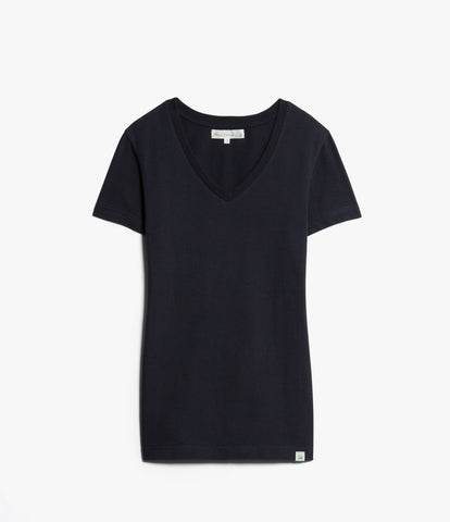 Women's <br/>19.70sw fitted V-neck <br/>dark navy