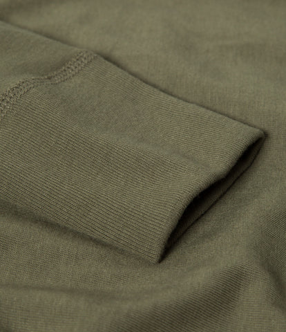 1930s henley long sleeve<br/>army