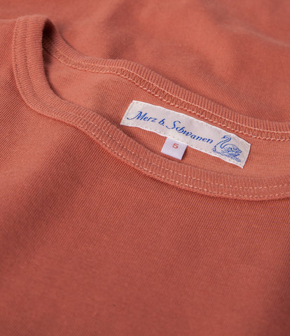 Men's <br/>1950's crew neck T-Shirt <br/>light rust