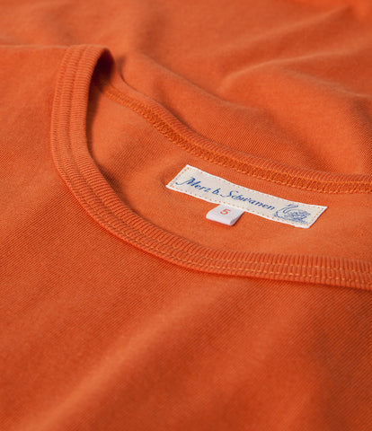 1950's crew neck T-Shirt<br/>rust