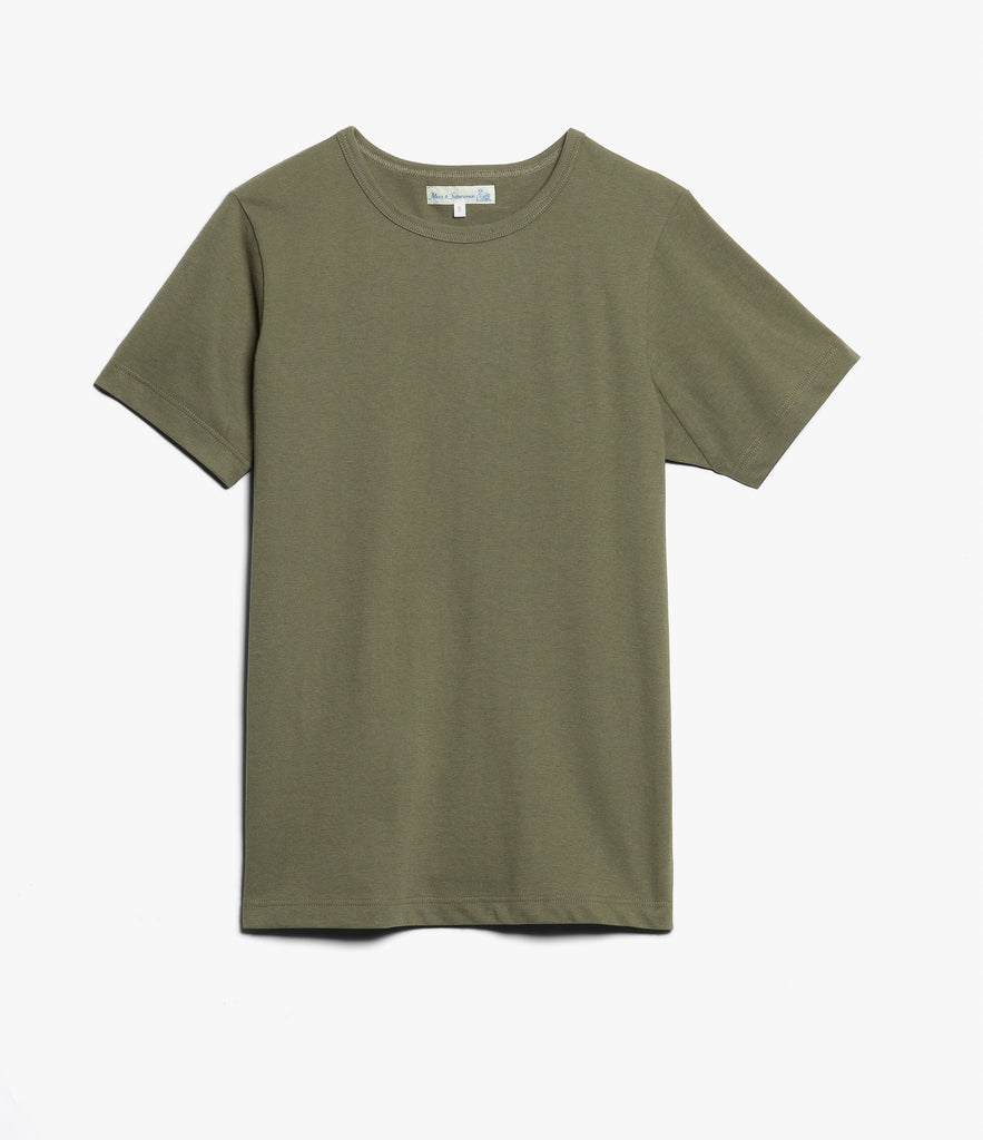 Men's <br/>1950's crew neck T-Shirt <br/>army