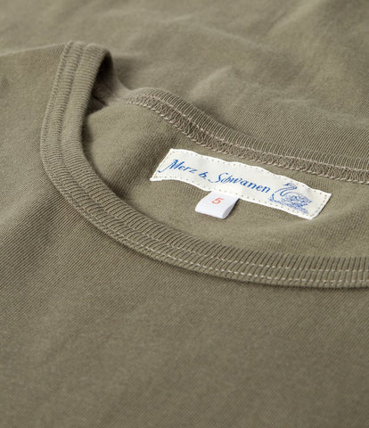 Men's <br/>1950'sLS crew neck long sleeve <br/>army