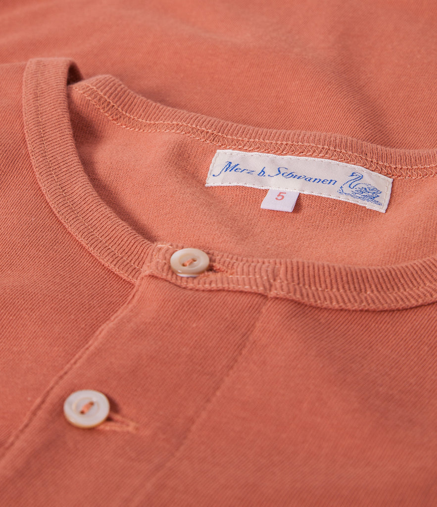 Men's <br/>206 henley long sleeve <br/>light rust