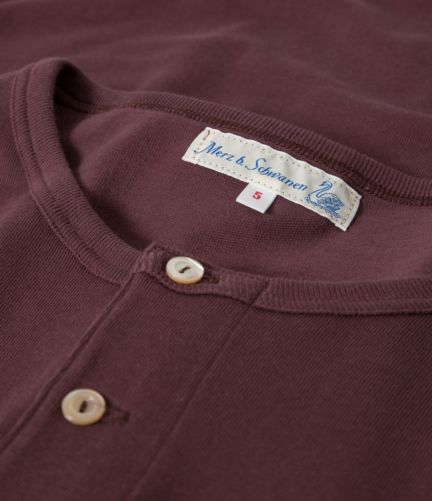 Men's <br/>206 henley long sleeve <br/>red oak
