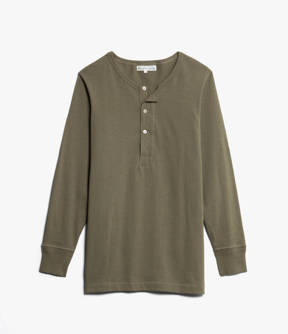 Men's <br/>206 henley long sleeve <br/>army