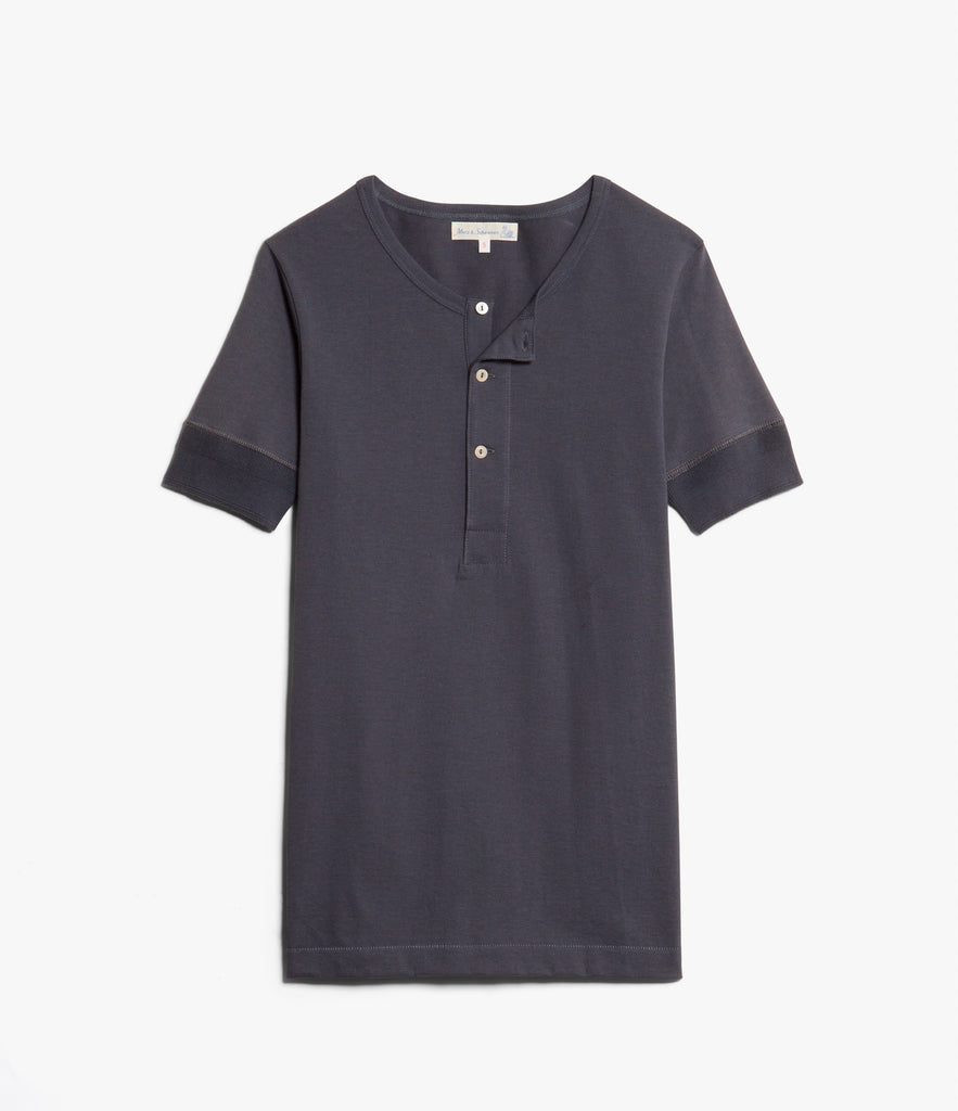 Men's <br/>207 henley short sleeve <br/>navy