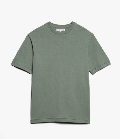 Men's<br/>215OS oversized classic crew neck T-shirt<br/>light army