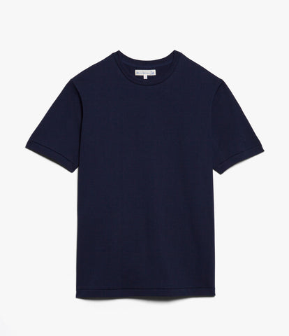 Men's <br/>215 classic crew neck T-shirt <br/>ink blue
