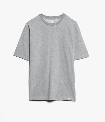 215OS oversized classic crew neck T-shirt<br/>grey mel.