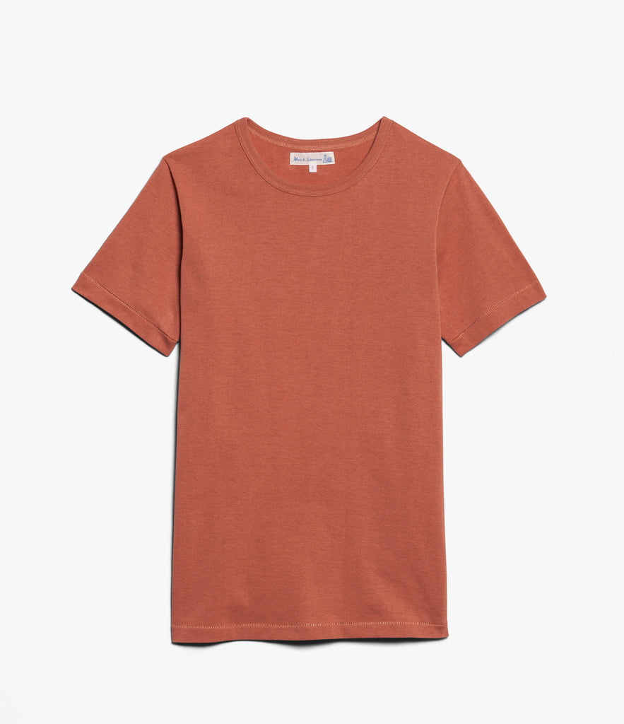Men's<br/>215 classic crew neck T-shirt<br/>light rust