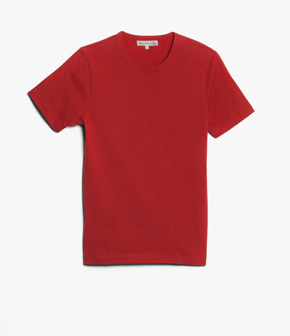 215 classic crew neck T-shirt<br/>red