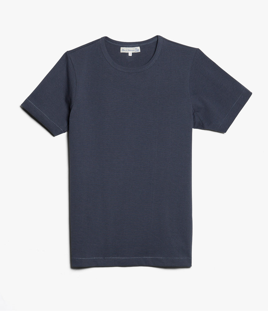 Men's <br/>215 classic crew neck T-shirt <br/>navy