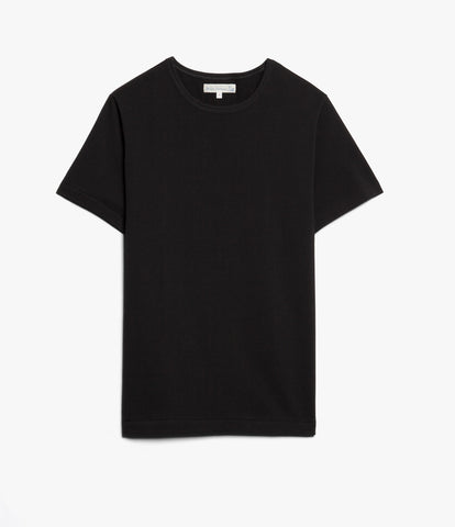 215 classic crew neck T-shirt<br/>deep black
