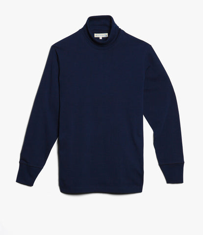 219 turtleneck long sleeve<br/>ink blue