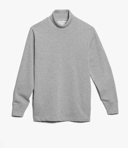 219 turtleneck long sleeve<br/>grey mel