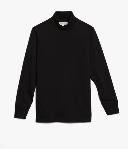 219 turtleneck long sleeve<br/>deep black
