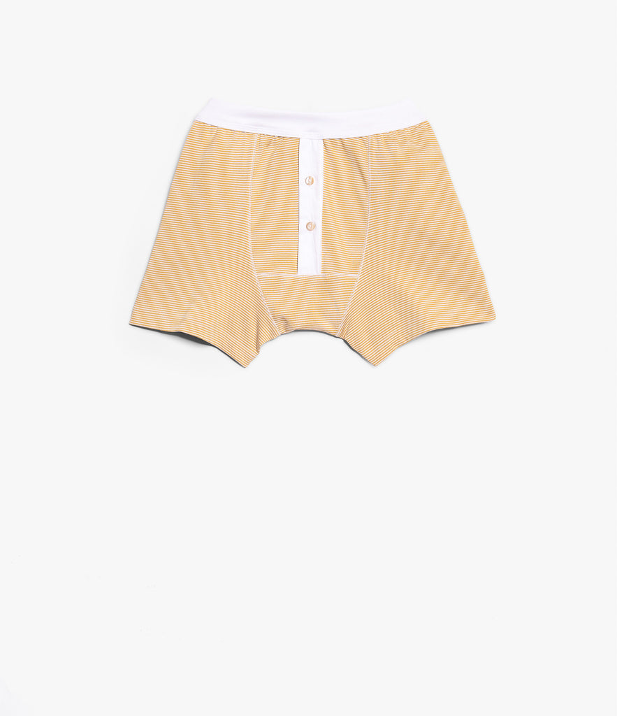 255 button facing underpants<br/>sun-white