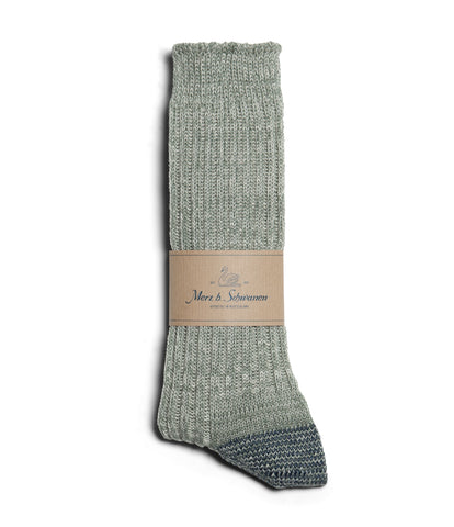 Unisex <br/>271 cotton socks <br/>light army-nature mel.