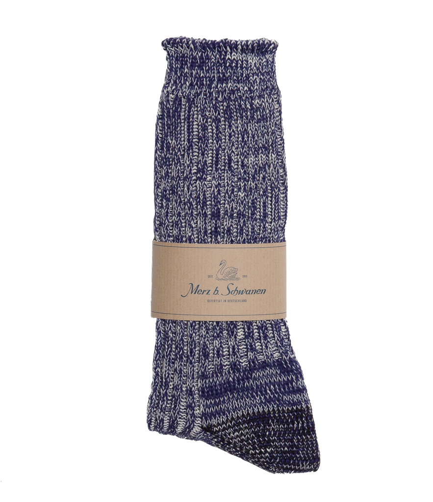 Unisex <br/>271 cotton socks <br/>electric blue nature mel.