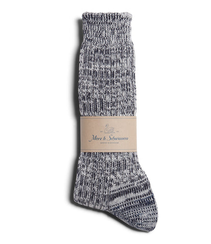 Unisex <br/>271 cotton socks <br/>dark navy nature