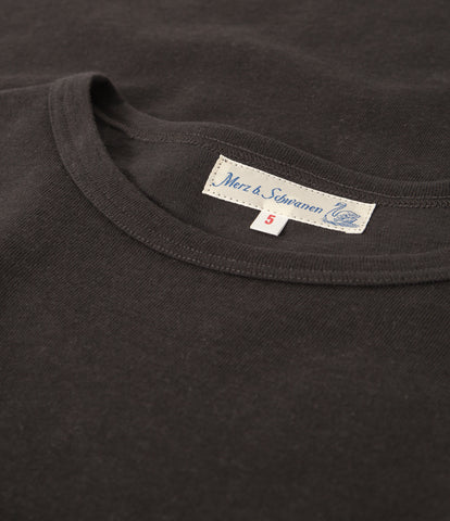 Men's <br/>2H15 hemp-cotton classic crew neck T-shirt <br/>charcoal