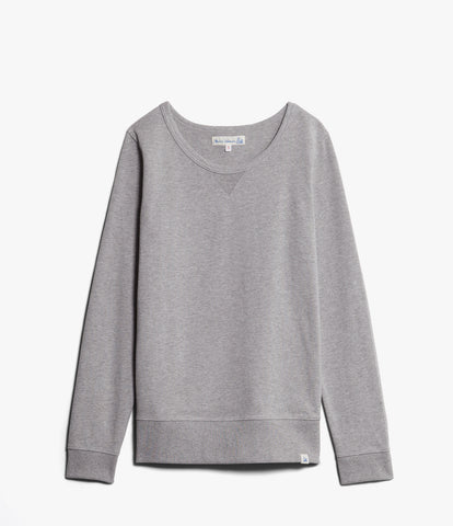 Women's <br/>2M.CS classic sweatshirt 1/1 Arm <br/> grey mel.