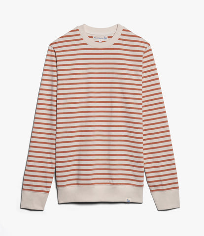 Men's <br/>2M45 crew-neck sweatshirt light<br/>nature-light rust