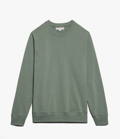 Men's <br/>2M45 crew neck sweatshirt light <br/>light army
