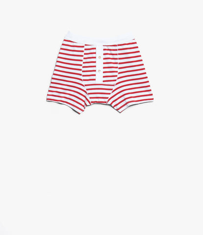 2M55 button facing underpants<br/>red-white