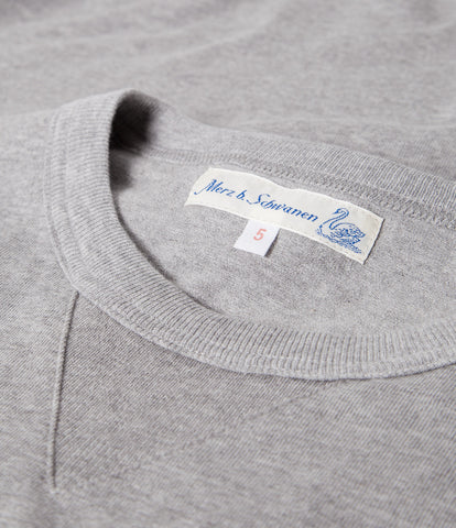 2M78 crew neck sweatshirt light<br/>grey mel.