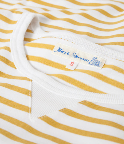 Women's <br/>2M.CS classic sweatshirt striped <br/> sun-white