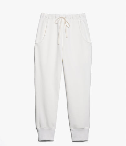 Women's<br/>3.CPR classic sweatpants rib<br/>white