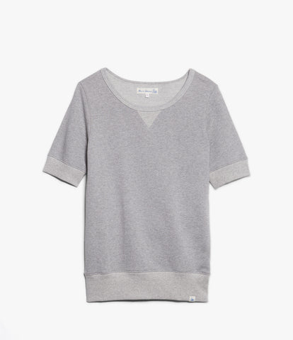 Women's<br/>3.CSSL classic short sleeved sweatshirt<br/>grey mel.
